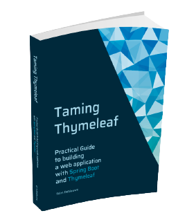 Taming Thymeleaf cover